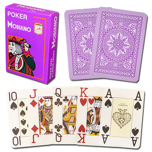 Modiano Poker Cards Jumbo