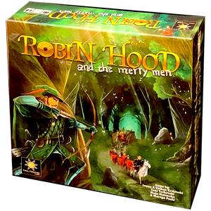 Robin Hood and the Merry Men board game
