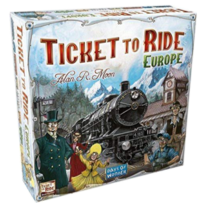 Ticket to Ride: Europe board game