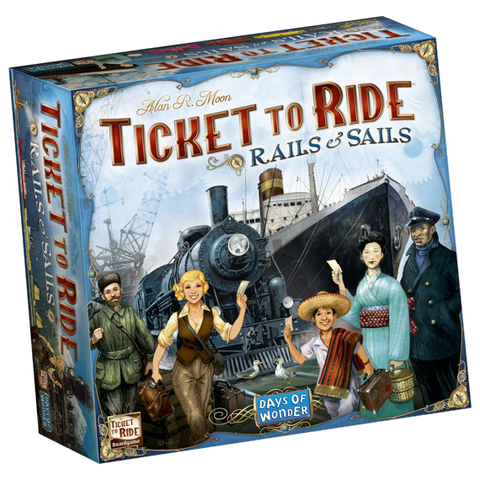 Ticket to Ride: Rails & Sails board game