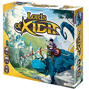Lords of Xidit Board Game