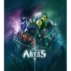 An art book compiling the amazing imager from Bruno Cathala's board game, Abyss.