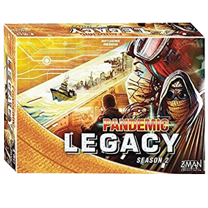 Pandemic Legacy Season 2 - Yellow Edition