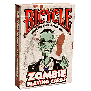 Bicycle Playing Cards Zombie