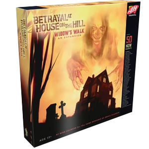 Betrayal at the House on the Hill - Widow's Walk Board Game