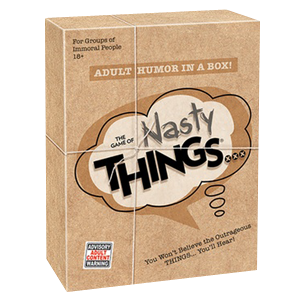 The Game of Nasty Things Party Game