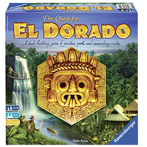 Quest for El Dorado board game