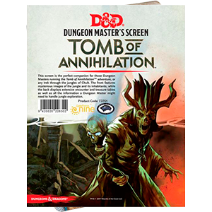D&D Tpmb of Annihilation Dungeon Masters Screen