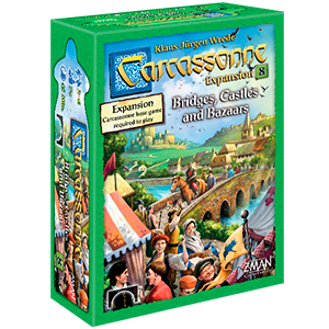 Carcassonne - Bridges, Castles & Bazaars Expansion 8