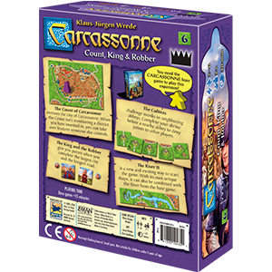 Carcassonne - Count, King & Robber (Exp 6)