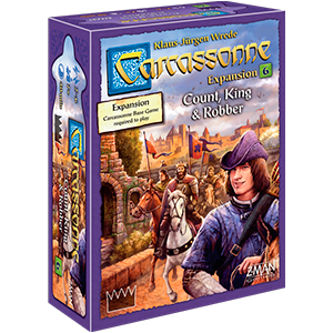 Carcassonne - Count, King & Robber Expansion 6