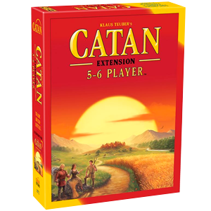 Catan Board Game 5-6 Player Extension