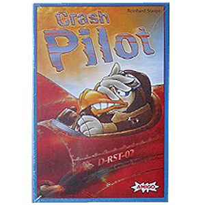 Crash Pilot children's board game