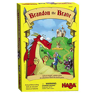 Brandon the Brave Board Game for Young Children