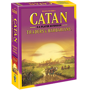 Catan - Traders & Barbarians - 5&6 Player Expansion