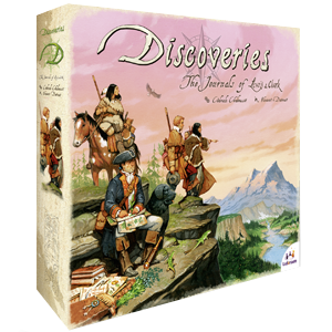 Discoveries The Journal of Lewis & Clark Board Game