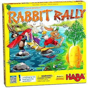 Rabbit Rally Board Game