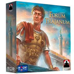 Forum Trajanum Board Game By Stefan Feld