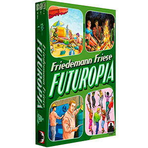 Futuropia Board Game Friedman Friese