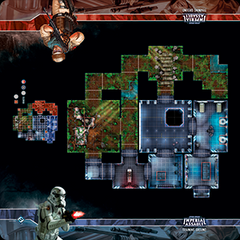 Star Wars Imperial Assault Training Ground Skirmish Map