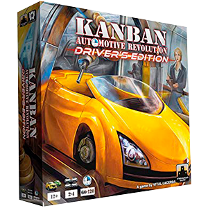 Kanban Drivers Edition Board Game