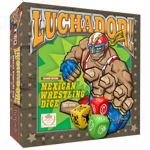 Luchador Mexican Wrestling Dice Game