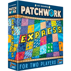 Patchwork Express board game by Uwe Rosenberg