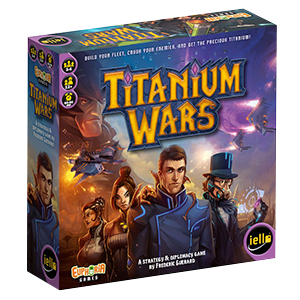 Titanium Wars Board Game