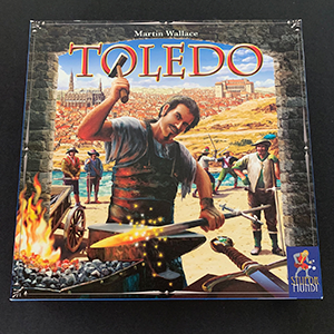 Toledo Board Game Second Hand