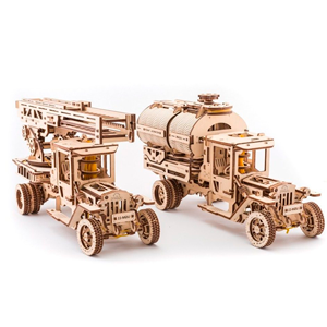UGEARS - Set of Additions to Truck UGM-11 (TRUCK NOT INCLUDED)