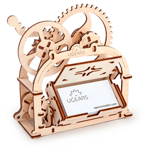 UGears Mechanical Box for Business Cards