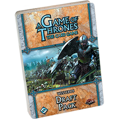 A Game of Thrones: The Card Game First Edition - Westeros Draft Pack
