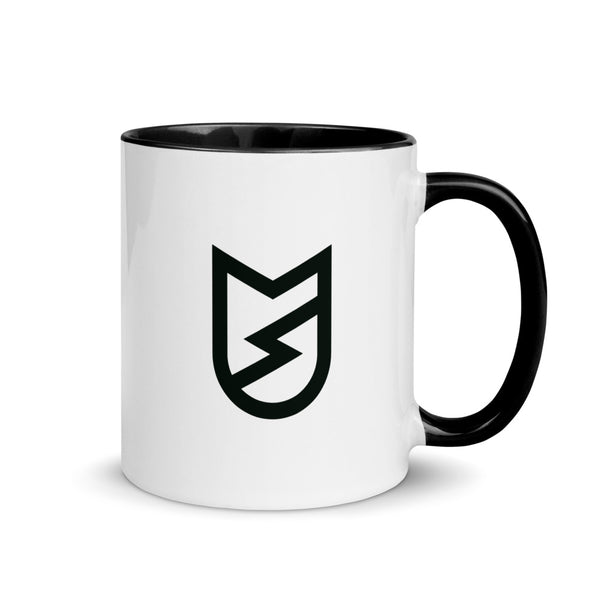 Cat Logo Mug with Color Inside