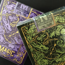 Load image into Gallery viewer, Custom Numbered Seals for Limited Edition Four-Color TMK Playing Cards