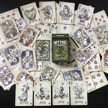 Load image into Gallery viewer, Four-Color TMK Playing Cards - Green Nature Deck with Jokers and Two Extra Cards