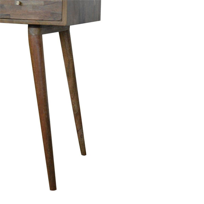 Burrito Writing Desk Oak Finish Home Furniture