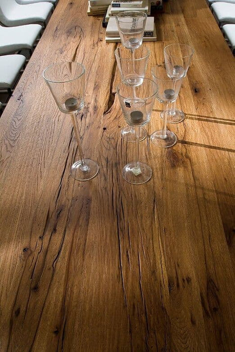 Carlton 400cm Solid Oak Wood Dining Table