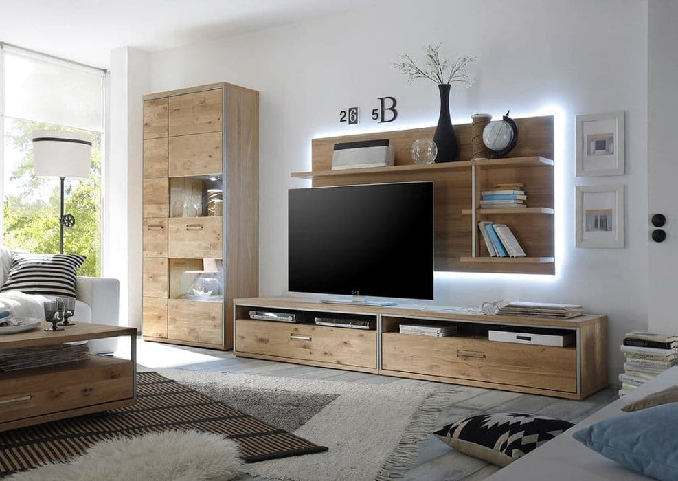Esther 248cm Wide TV Stand With Wall Mount