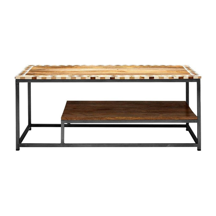 Karl Handcrafted Coffee Table Natural Home Furniture
