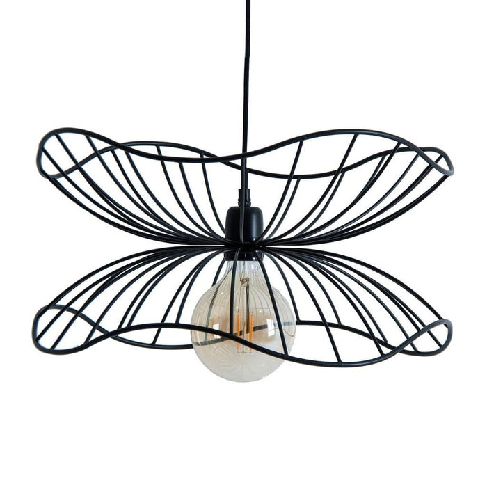 Nadds Brass Black Ceiling Light