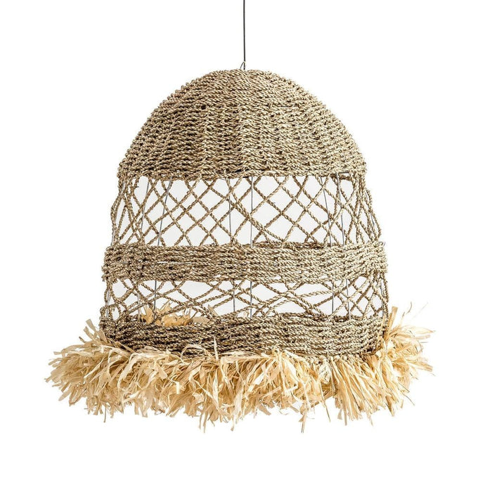 Raffia Drop Ceiling Light