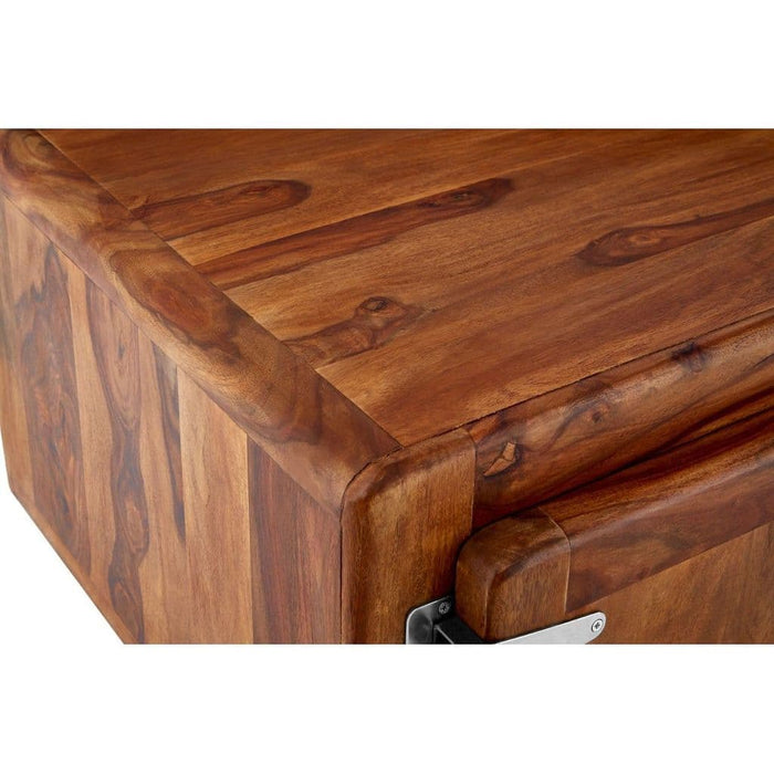 Silva Rectangular Coffee Table Brown Home Furniture