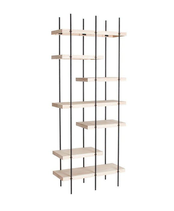 Sydney Tall Wooden Decorative Shelving Furniture