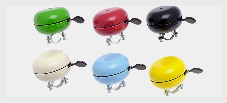 Six color options for Christiania Bike America bells