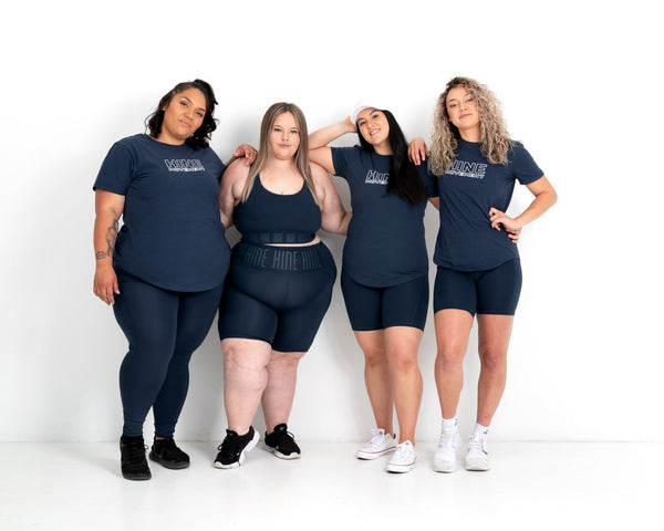 Sportswear for differenent body shape