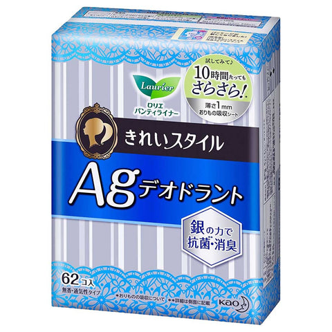 Laurier Pantyliner AG Deodorant 62 pads