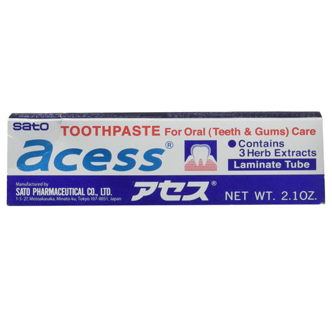 Sato Acess Toothpaste 60g