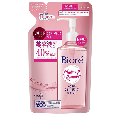 Biore Aqua Jelly Makeup Remover Refill 210ml