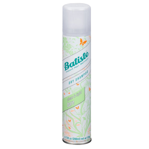 Batiste Dry Shampoo - Bare Natural & Light 200ml