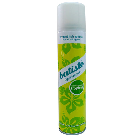 Batiste Dry Shampoo - Tropical (Coconut & Exotic) 200ml